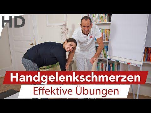 Übungen gegen Handgelenkschmerzen, Schmerzen im Handgelenk, Unterarm Schmerzen, Faszientraining, Faszien LNB Schmerztherapie