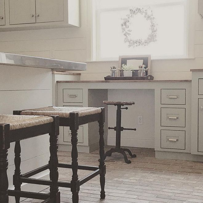 Shades Of Neutral Gray White Kitchens: The Grey Cabinets Paint Color Is Sherwin Williams SW 6184