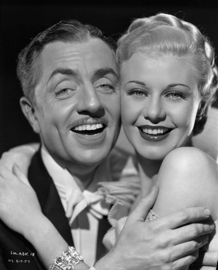 William Powell and Ginger Rogers in Star of Midnight (1935)