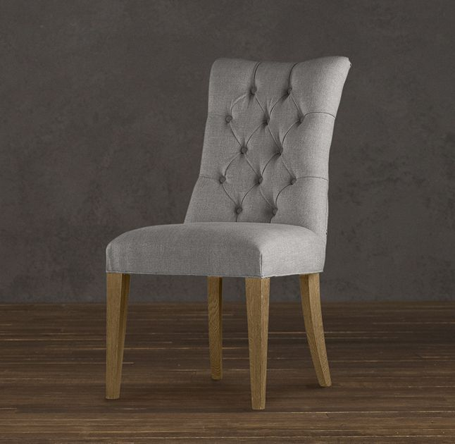 RHu0027s Martine Tufted Fabric Side Chair:Inspired By A French Design, Martine  Isu2026 Restoration HardwareSide ...