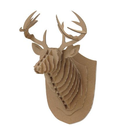 Karton Medium Deer Trophy