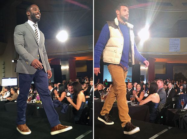 See #Redskins Defensive End Chris Baker Dance Down the Catwalk (Video) #washington #fashion | Washingtonian