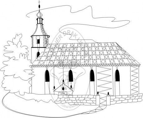 www.atelierdrak.estranky.cz - Fotoalbum - Počítačová grafika H.D. - Podvinky - Pitárne - kostel