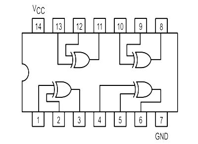 circuit diagram  electronic circuit and gates on pinterest