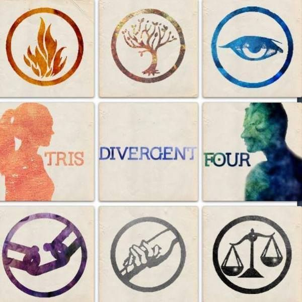 The Factions, Tris, and Four.