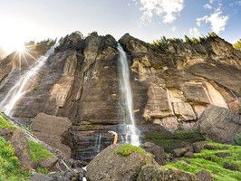 Bridal Veil Falls, Colorado: Travel Channel, Bridal Fall, Bridal Veils Fall, Beauty Place, Nature Magnif, Travel Dream, Tellurid Colorado, Fall Tellurid, Travel Buckets