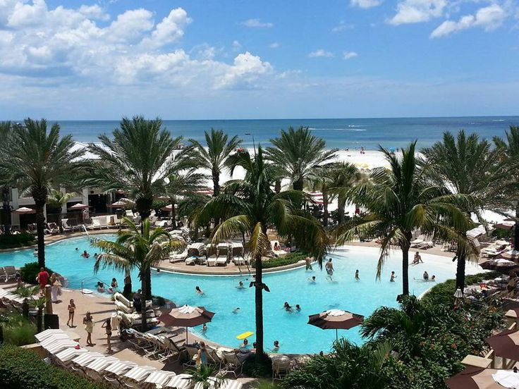 Sandpearl resort clearwater beach florida around the for Fishing resorts in florida