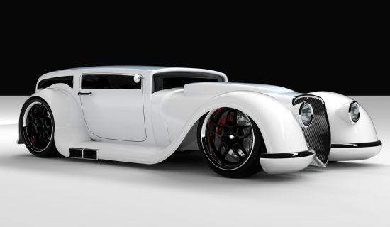 Jason Holmes designed retro speedster