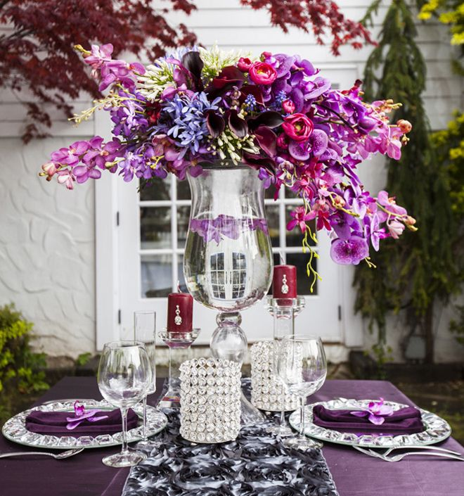 Wedding Table Flower Ideas: 322 Best Images About Centerpieces On Pinterest