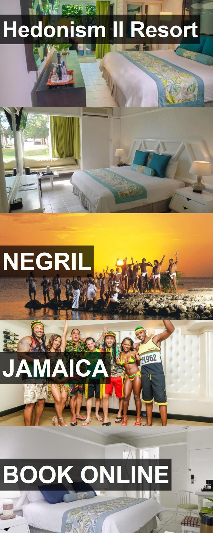 Hotel Hedonism II Resort in Negril, Jamaica. For more information, photos, reviews and best prices please follow the link. #Jamaica #Negril #travel #vacation #hotel