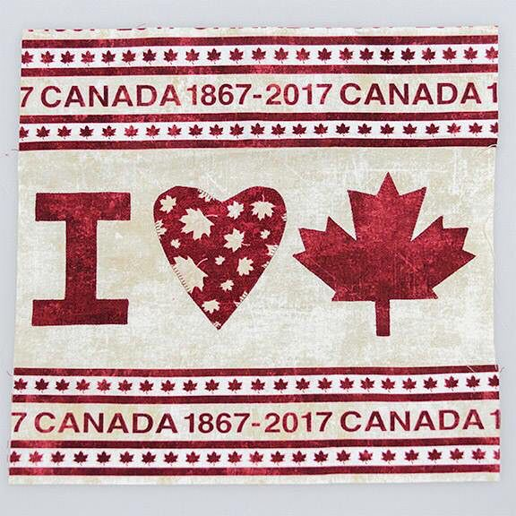 The last stop for today is Heartworks Quilt Shop. This quilt block sums up Mrs. Bobbins' feelings about Canada and all the amazing shops!