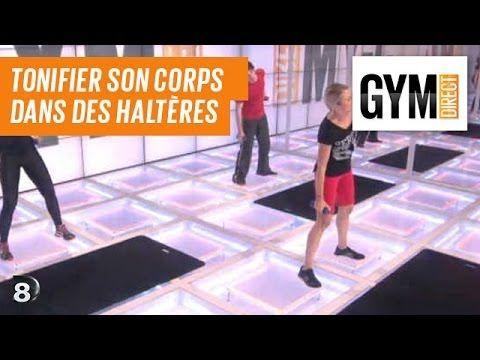 Tonifier son corps avec des haltères - Renfort musculaire 60 - YouTube
