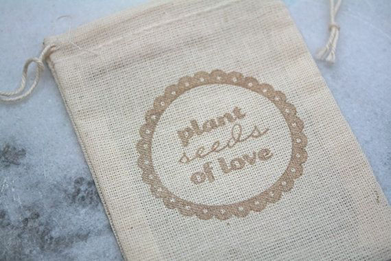 personalized favor bag (by clementine weddings) #handmade #wedding #favor