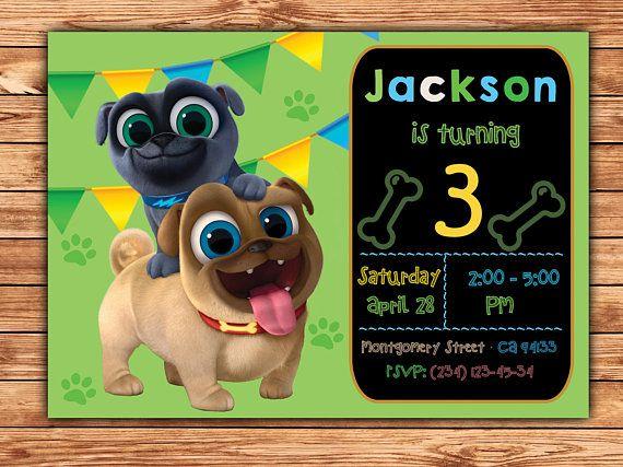 Puppy Dog Pals Party Invitation Puppy Dog Pals Invitation Diy Puppy Dog Pals Birthday Party Puppy Dog Pals Printable Digital File Invitacion Cumpleanos Nino Cumpleanos Ninos Tarjetas Invitacion Cumpleanos