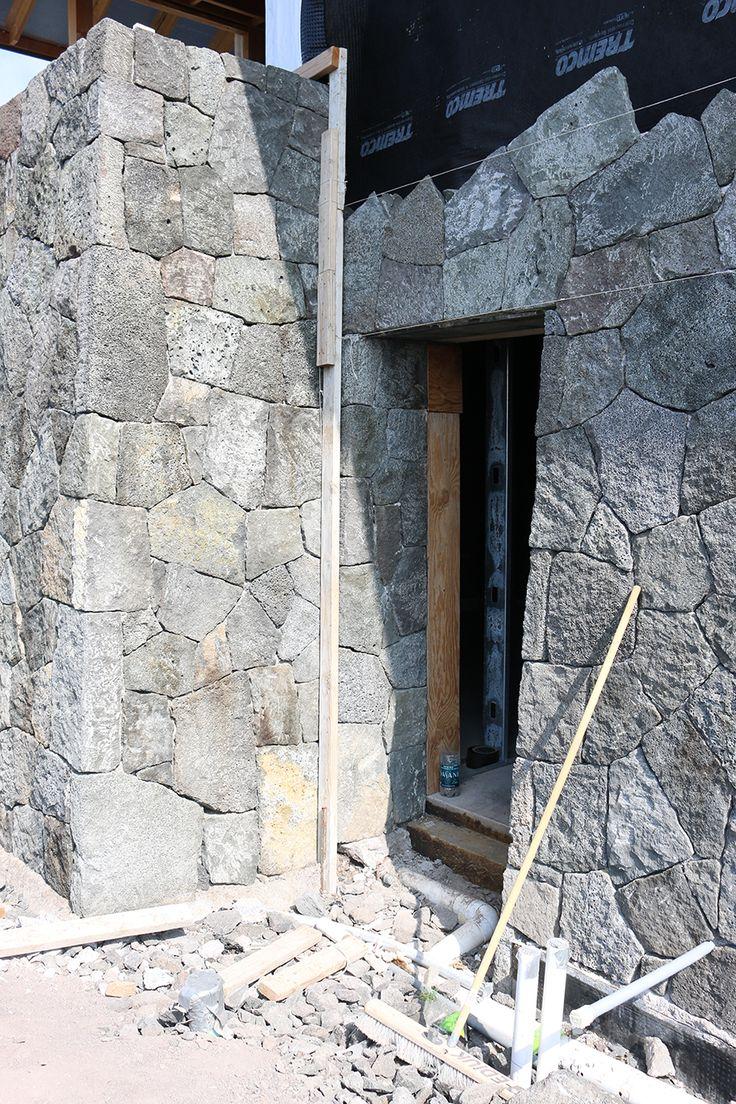 28 best merner house rock walls images on pinterest lava rock