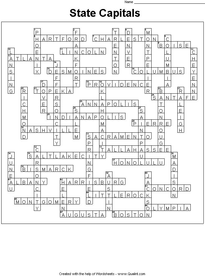 Qualint Sample Puzzles Worksheets | Student writing ...