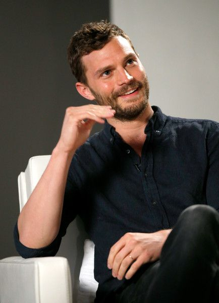 Jamie Dornan Photos Photos - Actor Jamie Dornan speaks during Variety Studio…