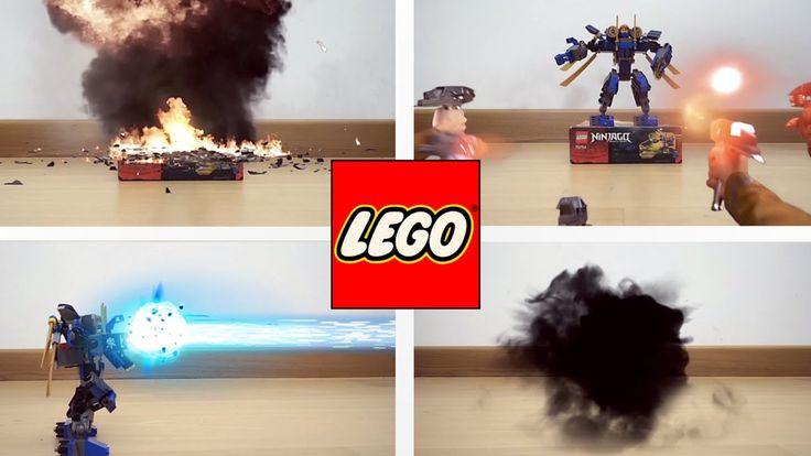 Come fare un video con effetti speciali con lo smartphome + #LEGO #NINJAGO
