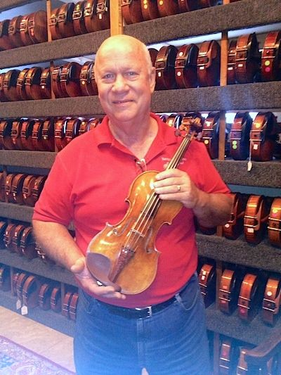 The Real Deal: Paul Bartel of Cincinnati's Baroque Violin Shop