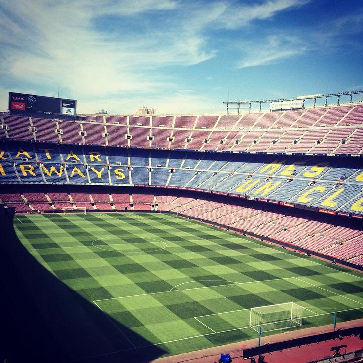 Camp Nou is ready for #Gamper50 Força Barça! El Camp Nou ja està preparat pel Trofeu Joan Gamper El Camp Nou ya está preparado para el Trofeu Joan Gamper #Gamper50 #FCBRoma #igersFCB #CampNou