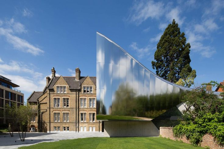 Zaha Hadid Architects, Investcorp Building for Oxford University's Middle East Centre at St Antony's College, Oxford, UK Architecture Festival