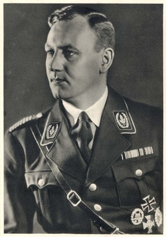 """Viktor Lutze was the commander of the Sturmabteilung (""""SA"""") succeeding Ernst Röhm as Stabschef. He died from injuries received in an automobile accident. Goebbels, in his diaries, had already described Lutze as a man of """"unlimited stupidity"""" but at his death decided he was a decent fellow. Lutze was given an elaborate state funeral in Berlin on May 7, 1943."""