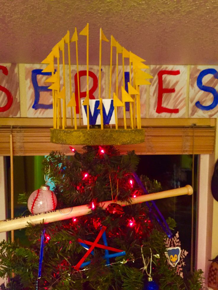 Replica World Series trophy | Holiday decor, Holiday ...