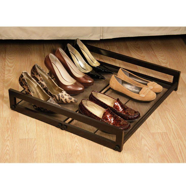 26 best images about Shoe Storage on Pinterest  Ottomans Black