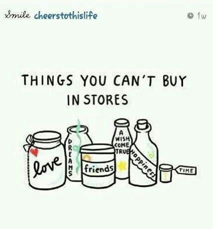 Things youcant buy in stores