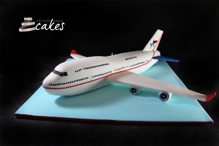 how to make an aeroplane cake