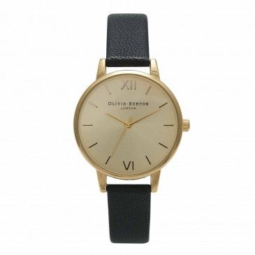 Midi Dial Black and Gold