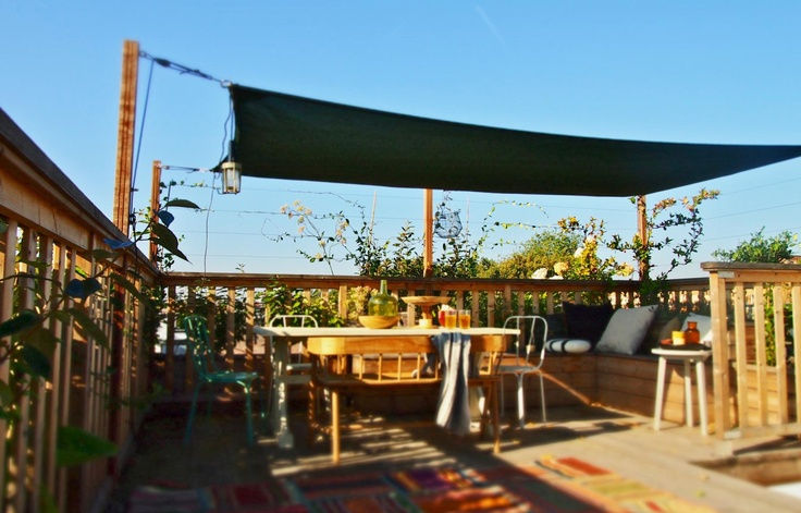 Like the idea of the roof | Dakterras Amsterdam