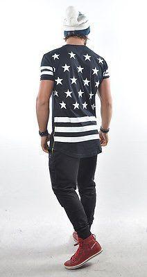 Camisetas Longline Masculina - Leandro Abranjo