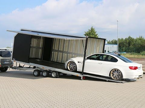Autotrailer - Cargo Race Master 230x560cm 3,5t bei KOCH PKW Anhänger Autotransporter - YouTube
