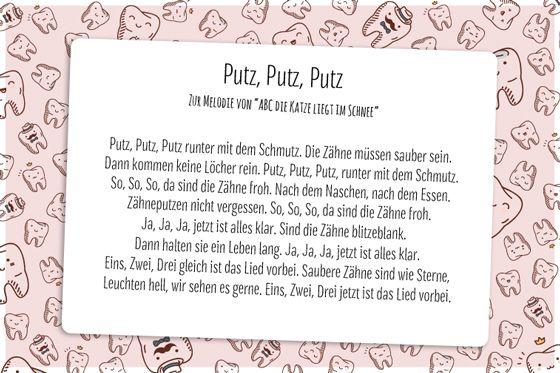 Putz Putz Putz - Lieder zum Zähneputzen - Bilder