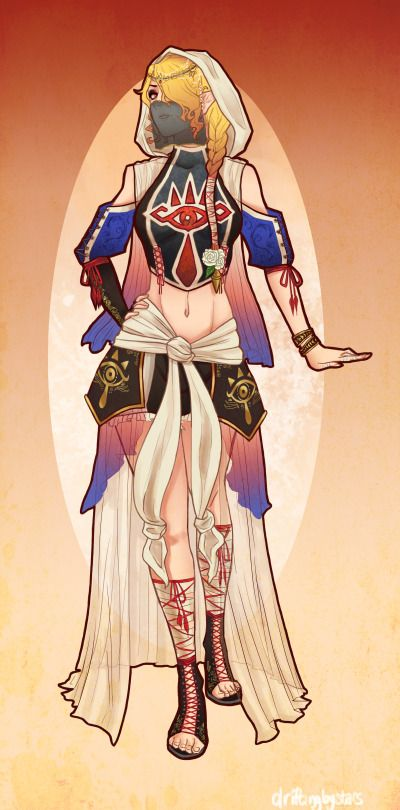 Sheik Redesign by driftingbystars
