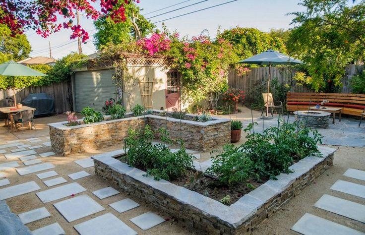 die 25 besten hochbeet aus stein ideen auf pinterest steingartenpflanzen garten ideen. Black Bedroom Furniture Sets. Home Design Ideas