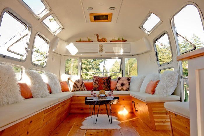 Forecast 9 New Ideas For Summer Events Rv Interior Design Airstream Interior Rv Interior