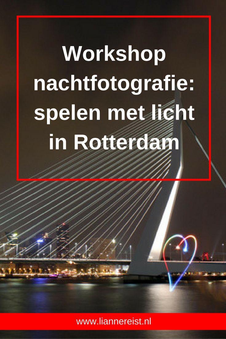 Na vier maanden online staat deze reisblog in de top drie. Vrij vertaald betekent fotograferen: schrijven met licht. En juist in het donker kun je fantastisch schrijven met licht. Een aan te raden workshop nachtfotografie in Rotterdam.