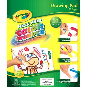 51 best christmas 2013 images on pinterest tube african for Crayola color wonder 30 page refill paper