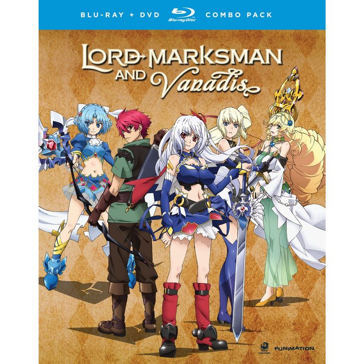 Lord marksman and vanadis:Complete se (Blu-ray)