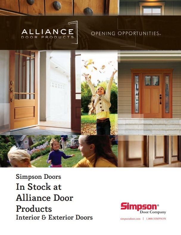 A Brochure Describing The SIMPSON DOOR Exterior U0026 Interior Doors Stocked In  Portland, Seattle,