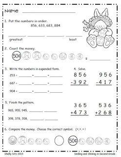 32 best Morning Work for Second Grade images on Pinterest ...