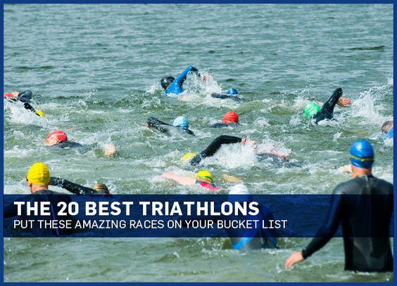 Triathlon races for the bucket list!