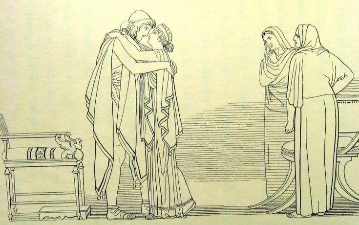 Джон Флаксман - Одиссей и Пенелопа
