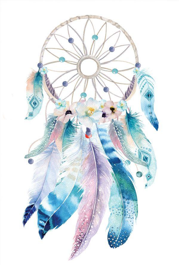 Blue Dreamcatcher Dream Catcher Art Dreamcatcher