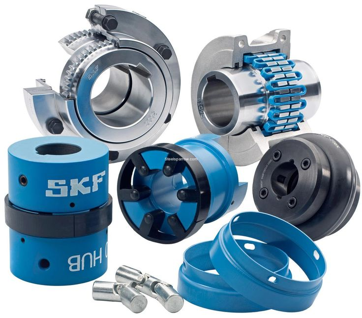 Buy Couplings online from SKF All types of couplings like Flex tyre coupling jaw coupling grid coupling FRC coupling Chain coupling Gear coupling and universal joints are available with us