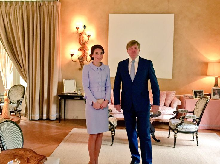 """Kensington Palace on Twitter: """"His Majesty King Willem-Alexander has welcomed The Duchess of Cambridge at Villa Eikenhorst"""