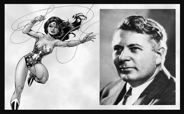 William Marston creator of Wonder Woman also invented the Lie Detector