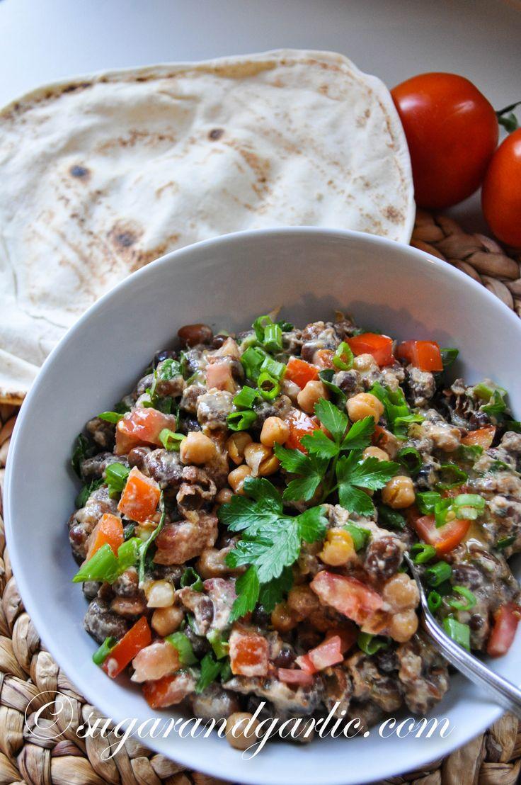The BEST Ful Mudammas (Fava bean salad) from scratch